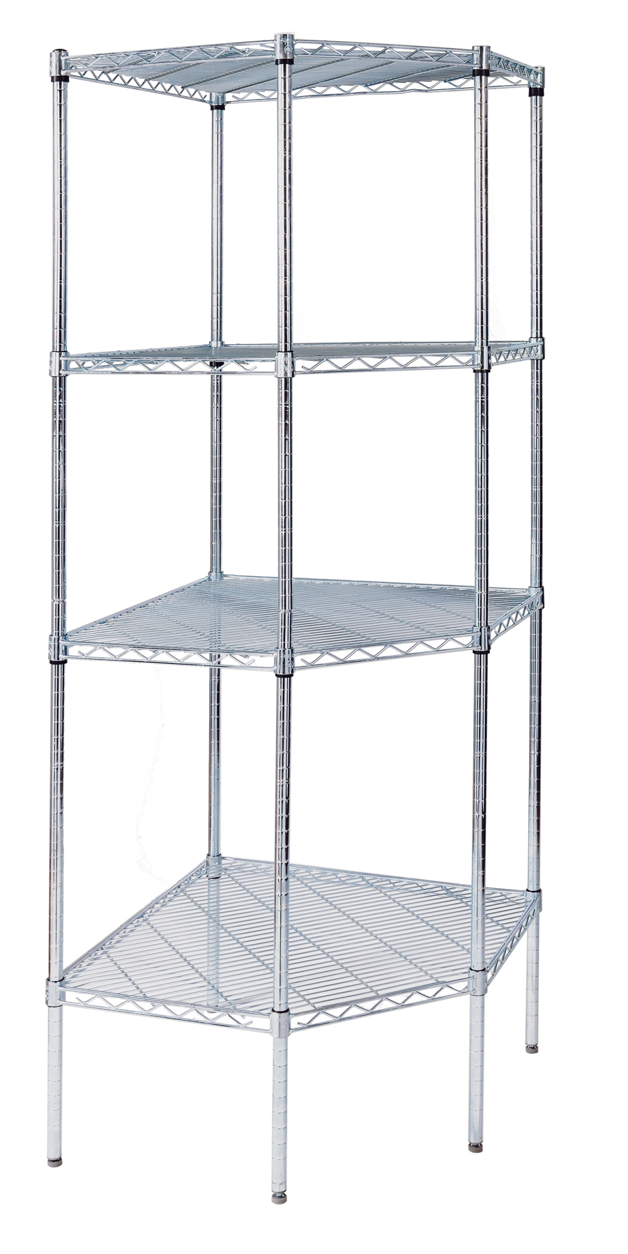 Corner Wire Shelving Options – Omega Products Blog