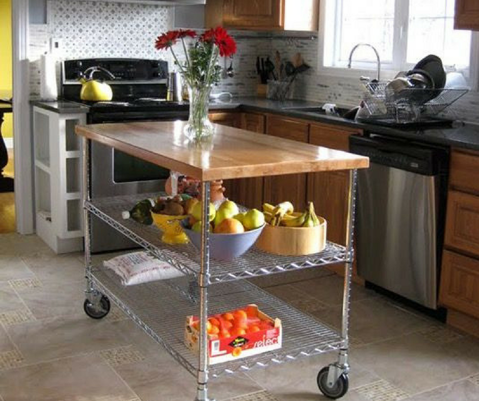 Butcher block ideas omega products blog - Small butcher block island ...