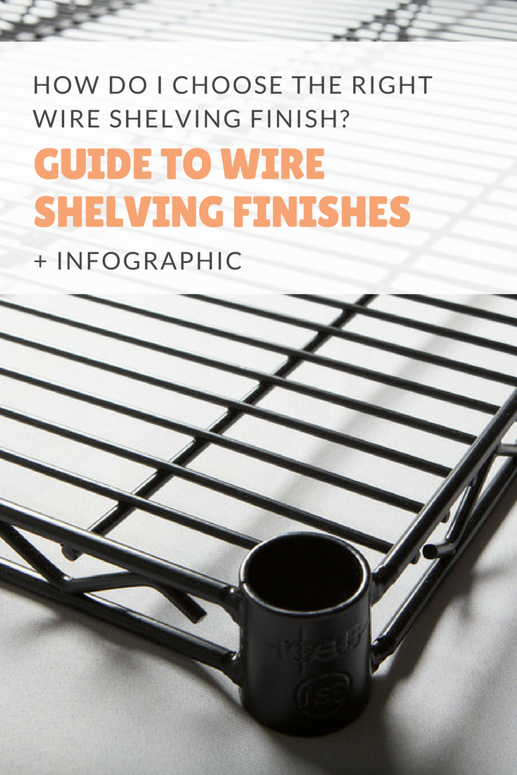 How Do I Choose the Right Wire Shelving Finish? – Omega Products Blog