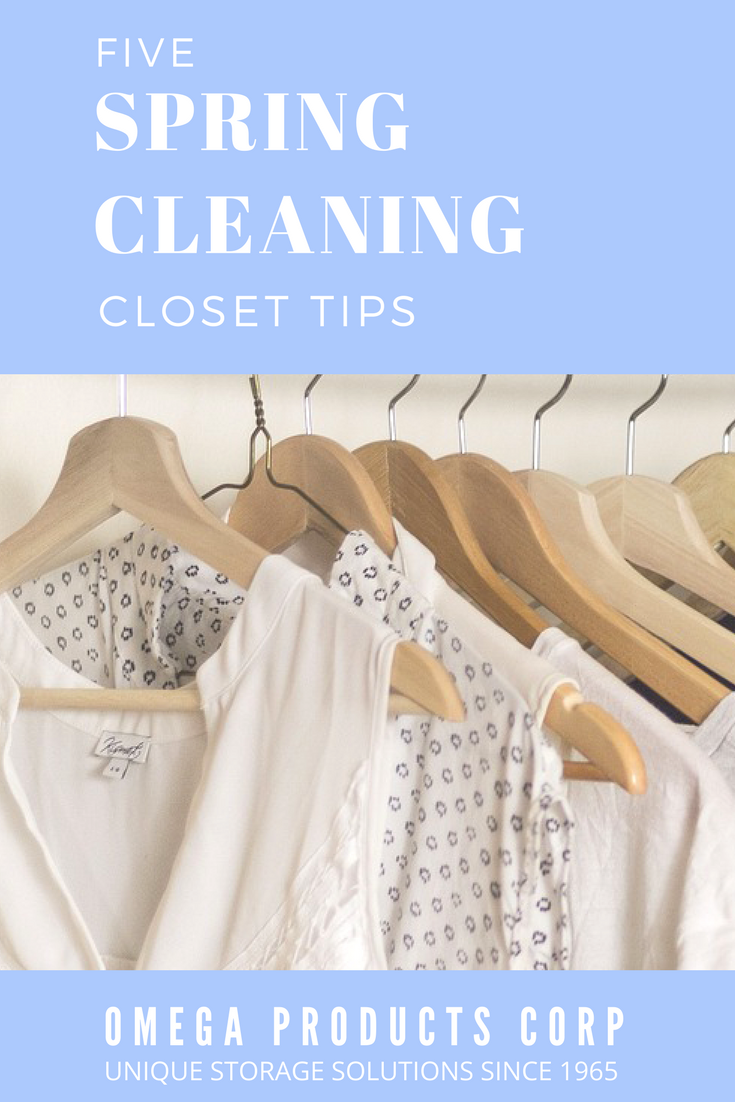five spring cleaning closet tips omega products corporation unique storage solutions since 1965